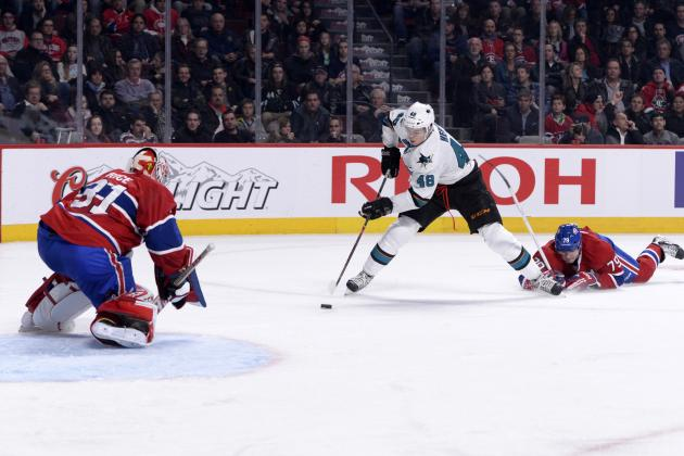San Jose Sharks Shut out Montreal Canadiens