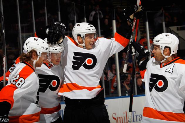 Breaking Down Philadelphia Flyers' Top Stars in 2013-14 Using Advanced Metrics
