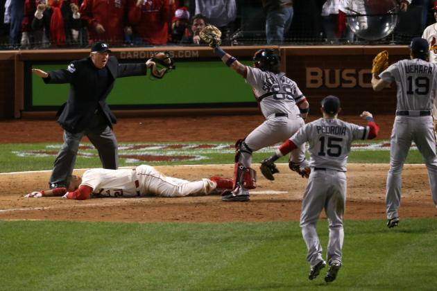 World Series 2013 Obstruction Call: Cardinals Win Game 3 on Bizarre Final Play