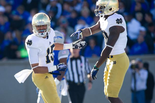 Notre Dame Fans Get a Glimpse of the Future Against Air Force, and It Looks Good