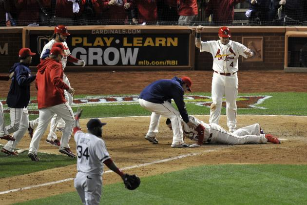 Cardinals vs. Red Sox Game 3: St. Louis Wins on Stumble-off Obstruction Call