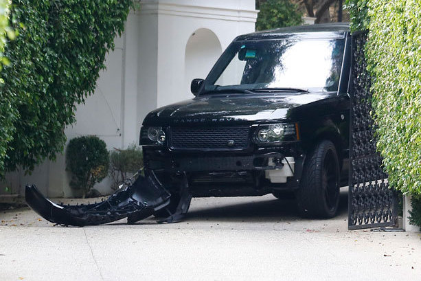 David Beckham Involved in Car Crash at Home, Latest Details and Photos