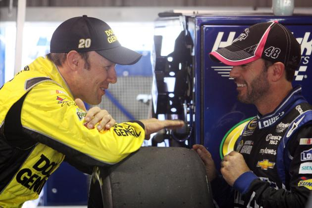 Texts Help Define Chase Race Between Johnson, Kenseth