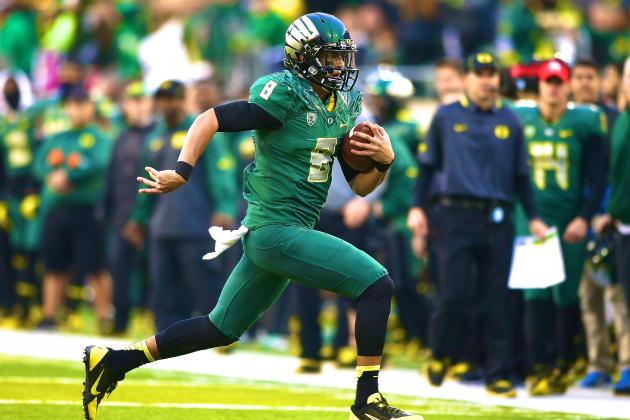 Marcus Mariota Beats UCLA, but Was Oregon QB Performance Heisman-Worthy?