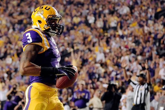 LSU's Odell Beckham Jr. Puts Up Impressive Milestones, and a Dubious One