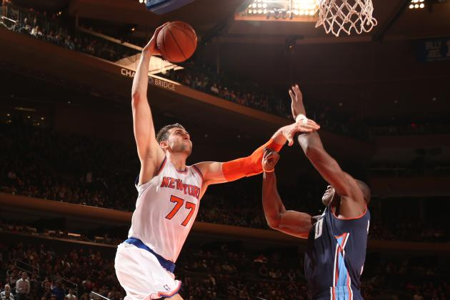 Andrea Bargnani Struggling with Transition to Knicks
