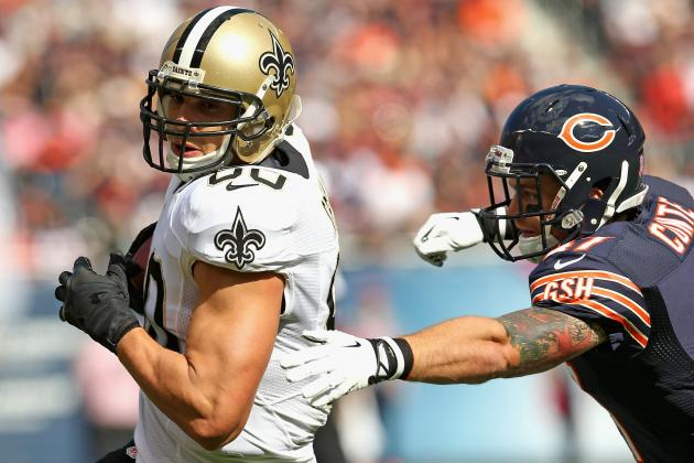Predicting Jimmy Graham's Fantasy Stats in Week 8 vs. Bills