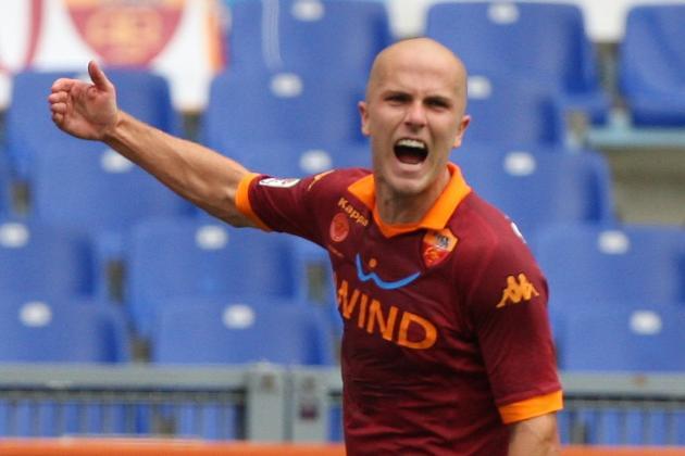 Udinese vs Roma 0:1 Bradley