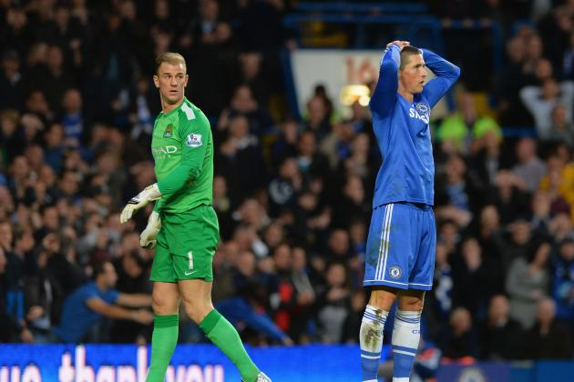 GIF: Fernando Torres Produces Shocking Miss for Chelsea Against Manchester City