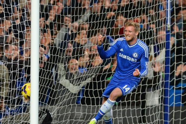 GIF: Andre Schurrle Benefits from Fernando Torres Run to Get Chelsea Opener