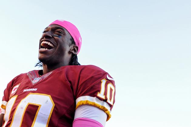 Robert Griffin III in Elite Fantasy Form Heading into Week 8 vs. Broncos