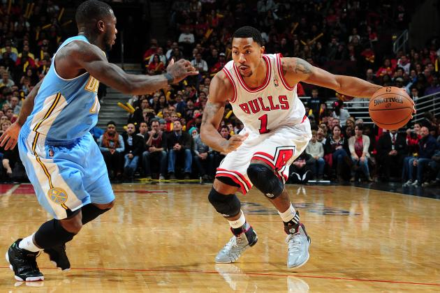 Derrick Rose Says 'It's Really Going to Be Scary' When He Gets into His Groove