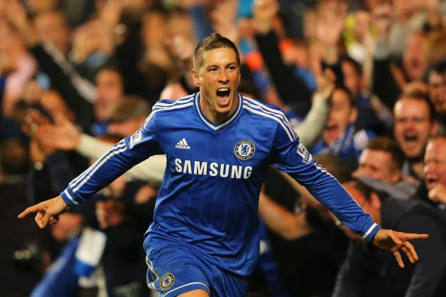 GIF: Fernando Torres Bags 90th Minute Winner for Chelsea vs. Manchester City