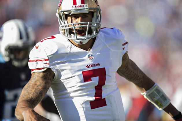 Colin Kaepernick's Updated Fantasy Trade Value After Week 8