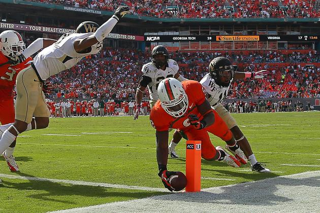 Miami Football: Best- and Worst-Case Scenarios for Hurricanes' Final 5 Games