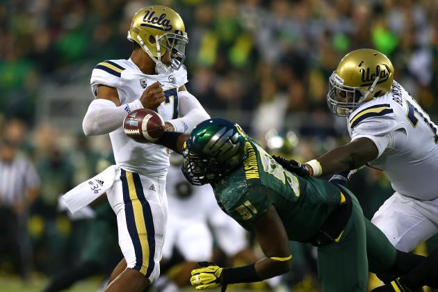 Defense Takes over as No. 3 Oregon Rolls over No. 12 UCLA
