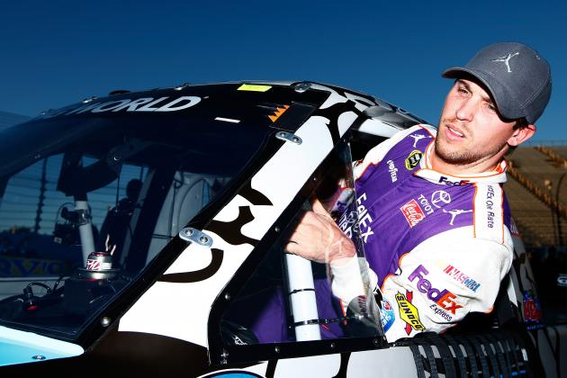 Denny Hamlin, Kasey Kahne Involved in Early Crash at Martinsville