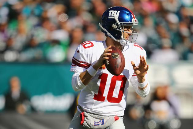 Eli Manning Becomes New York Giants' All-Time Passing Leader