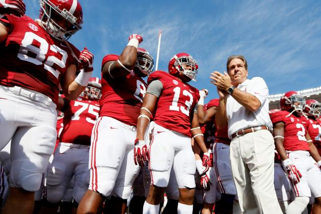 Alabama Football: Best and Worst Case Scenarios for Tide's Final 4 Games