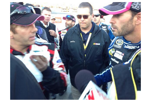 Biffle Angrily Confronts Johnson After Goody's Headache Relief Shot 500