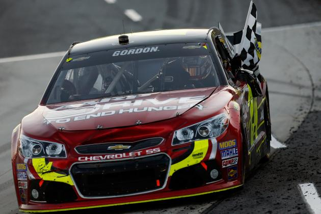 Gordon Reflects on 8th Career Victory at Martinsville