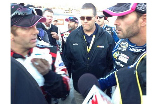 Greg Biffle Confronts Jimmie Johnson Post-Race at Martinsville