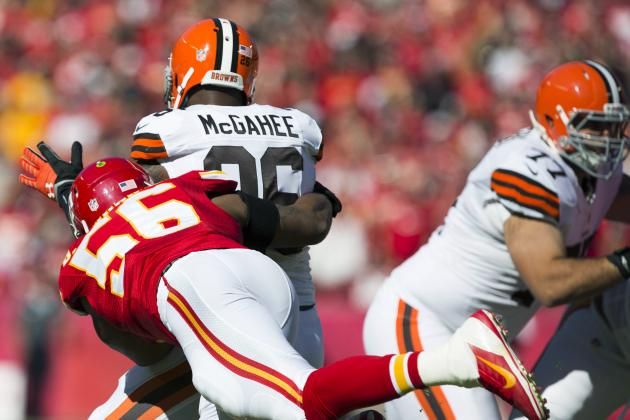 Browns Unable to Come Back as They Fall to Chiefs