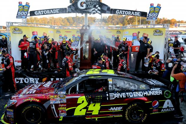Gordon Reflects on 8th Career Win at Martinsville