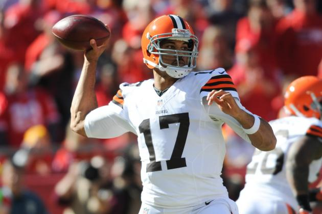 Jason Campbell Shows Enough in 1st Start for Cleveland Browns Not to Tank