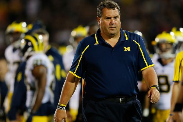 Michigan Football: Brutal November Could Warm Brady Hoke's Coaching Seat