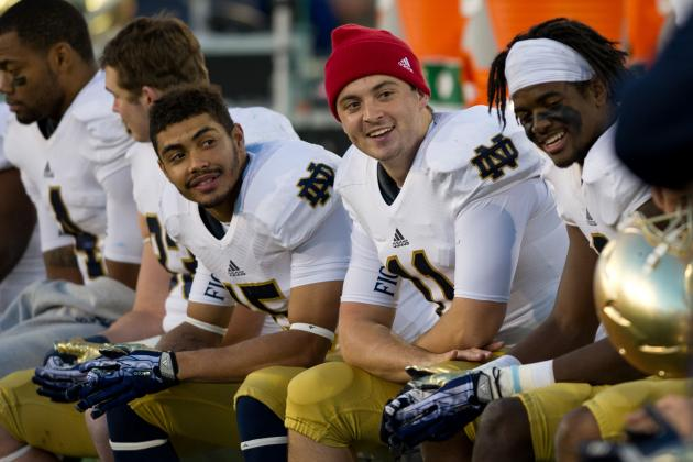 Notre Dame Football: Best and Worst-Case Scenarios for Irish's Final 4 Games