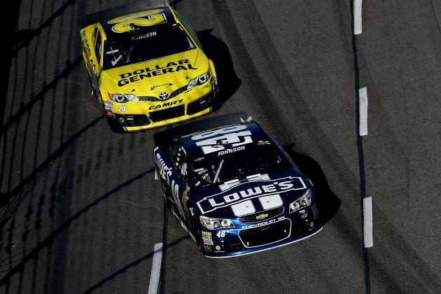 Who Has the Upper Hand in Jimmie Johnson-Matt Kenseth Duel for 2013 Chase Title?