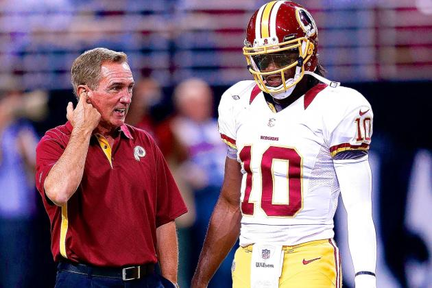 For Better or Worse, Mike Shanahan Is Married to the RGIII Roller Coaster Ride