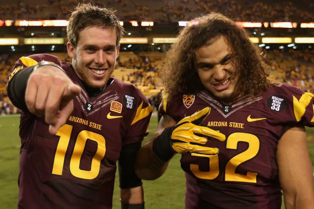 Arizona State Football: Best and Worst Case Scenarios for ASU's Final 5 Games