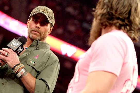Shawn Michaels' Apparent  Heel Turn Gives Fans Their Money's Worth