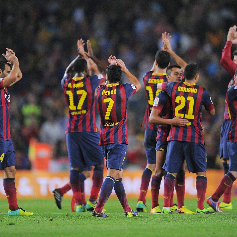 How Barcelona Will Line Up Against Celta Vigo