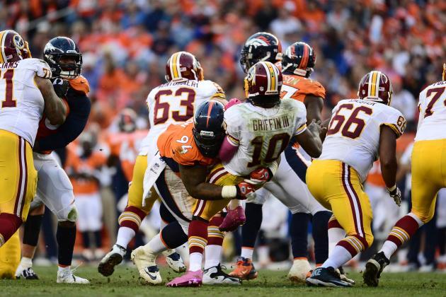 Redskins Lose to Broncos: Postgame Notes for Washington