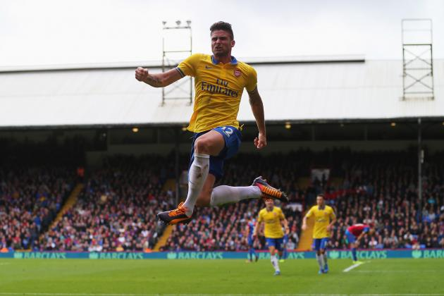 Premier League Scouting Report: Arsenal's Olivier Giroud vs. Crystal Palace