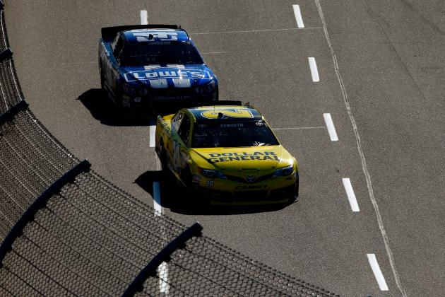 Kenseth, Jimmie Johnson Atop Chase Standings