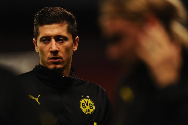 Robert Lewandowski Reportedly Offered to Man United, City, Arsenal and Chelsea