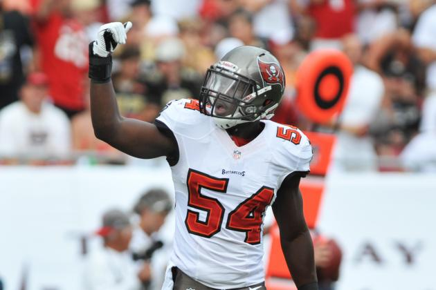 Efforts of Bucs LB David Drawing Notice