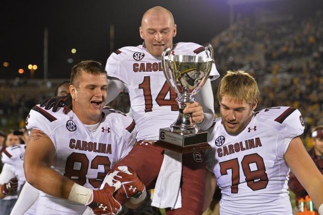 Shaw, Collins Headline Week 9's SEC Football Players of the Week