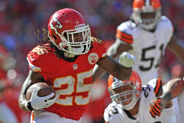 2013 Fantasy Football Running Back Rankings: NFL Week 9
