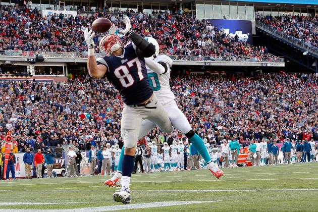 2013 Fantasy Football Tight End Rankings: NFL Week 9