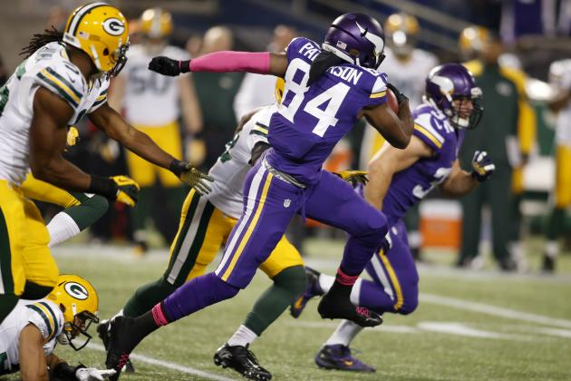 Cordarrelle Patterson Provides Vikings a Beacon of Hope In Disappointing Season