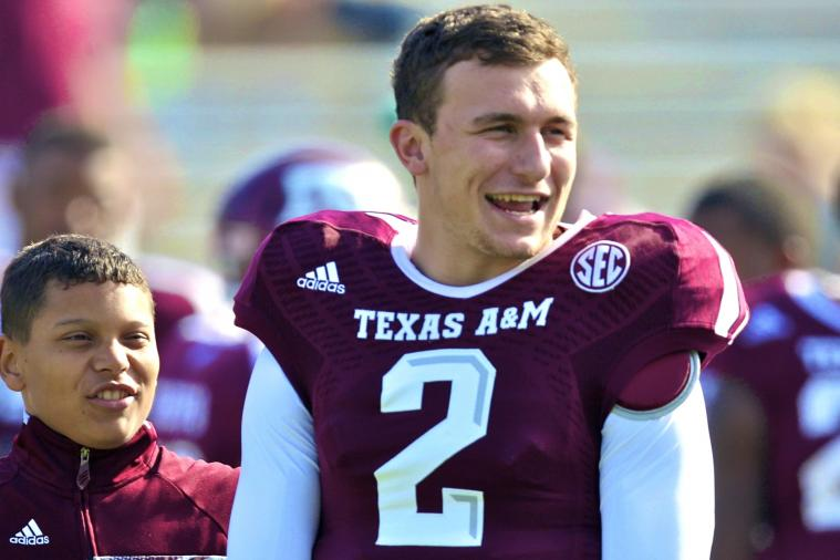 How Johnny Manziel Has Looked Even Better in 2013