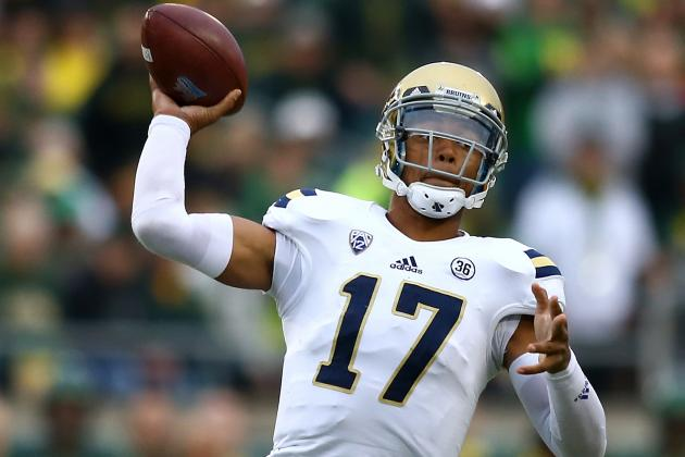 UCLA Quarterback Brett Hundley's Confidence May Be Shaken