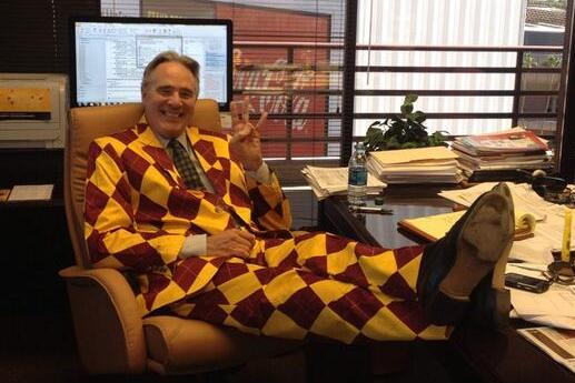 Photo: AD Steve Patterson Has a Wonderful Sun Devils Suit