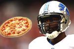 Lions' WR Gets Free Year of Pizza After Car Crash
