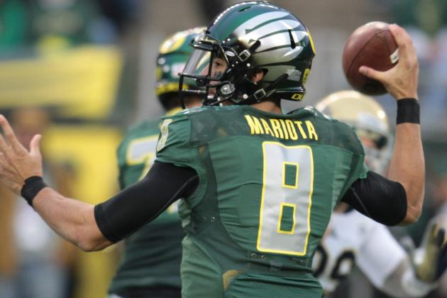 Try to Get in Mariota's Head, He Just Might Get in Yours